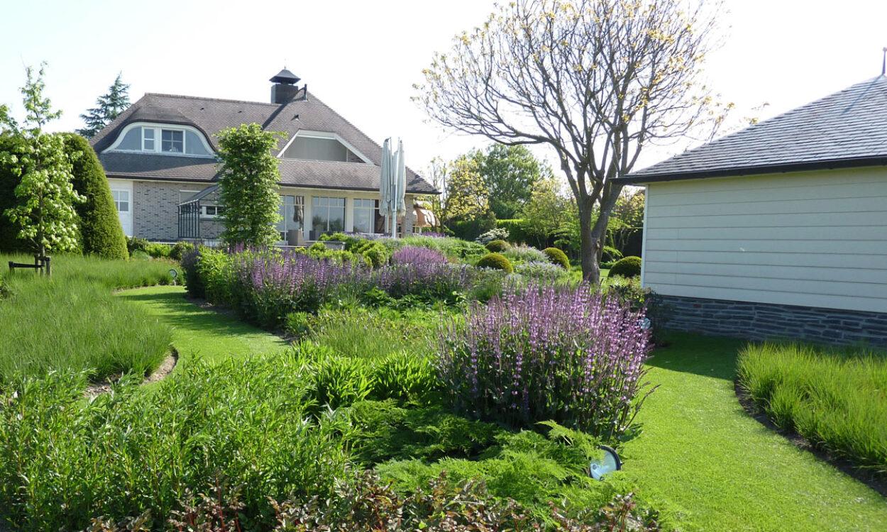 Kleurrijke borders en grassen 2