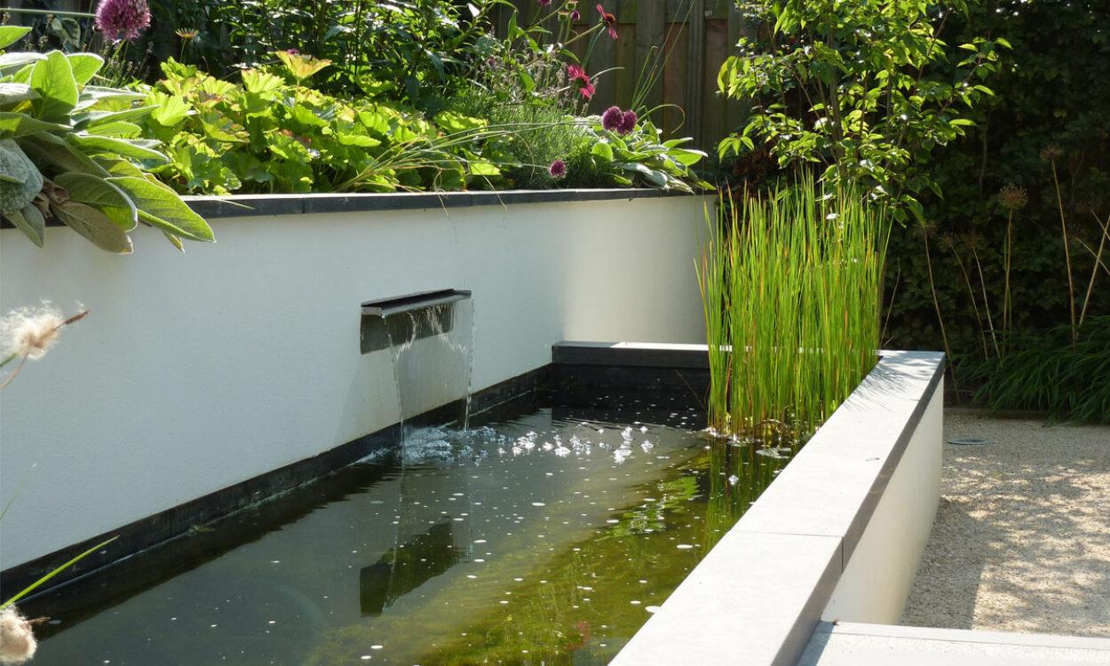Moderne tuin munter tuinprojecten for Moderne tuin